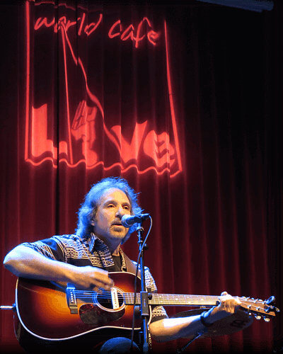 Mike T. Marino at World Café