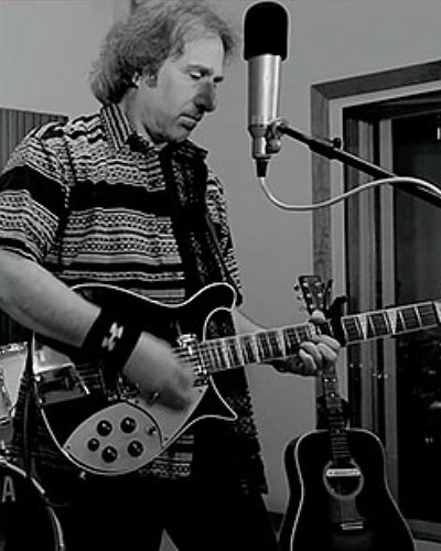 Americana Artist Mike T. Marino at In Studio