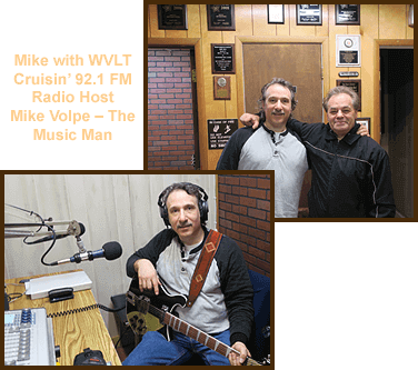 Mike T. Marino with Radio Host Mike Volp