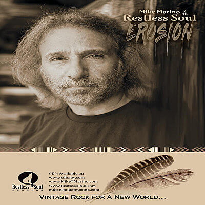 Singer Songwriter Guitarist Mike T. Marino RestlessSoul Records Erosion